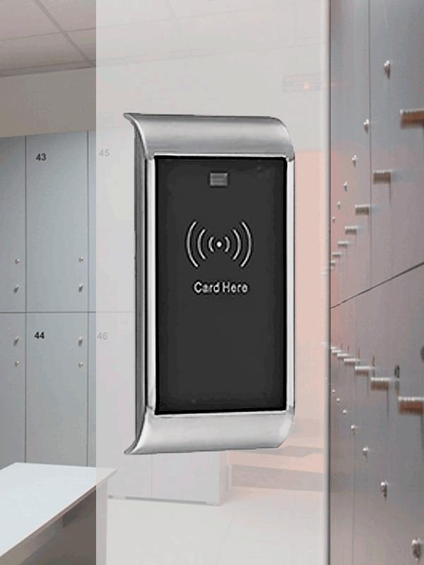 Электронный замок для шкафчика в раздевалку fv239
