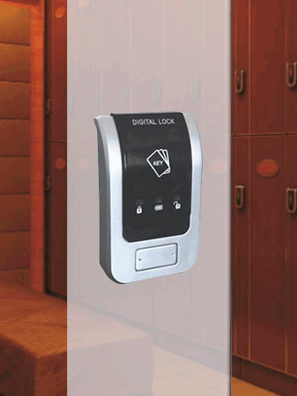 Электронный замок для шкафчика в раздевалку fv808
